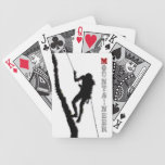 Mountaineer Playing Cards