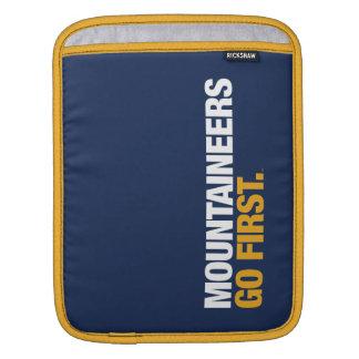 Mountaineers Go First iPad Sleeves