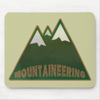 mountaineers, mountain style mouse pad