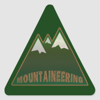 mountaineers, mountain style stickers