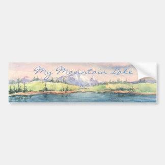 mountainlake, My Mountain Lake Bumper Sticker