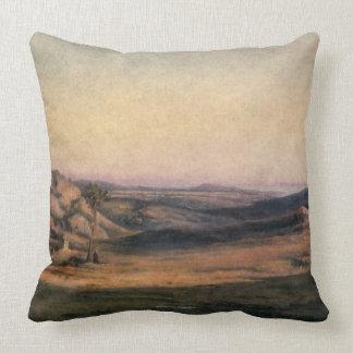 Mountainous Countryside Throw Pillow