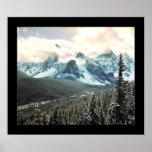 Mountainous (Cropped) Poster