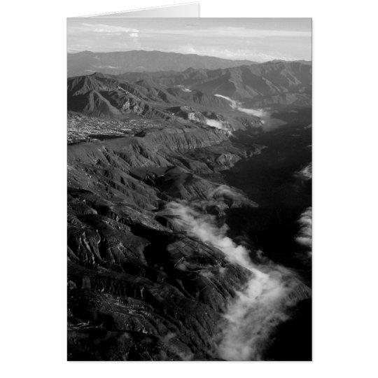Mountainous Ecuador Card