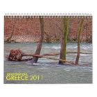mountainous greece wall calendars