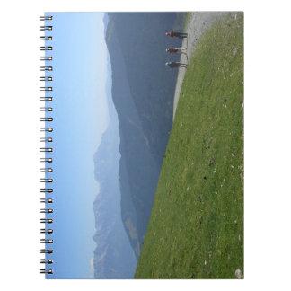 Mountainous Journey Notebook