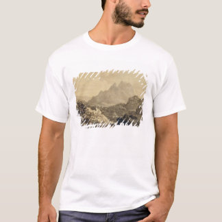 Mountainous Landscape, c.1780 (grey and brown wash T-Shirt