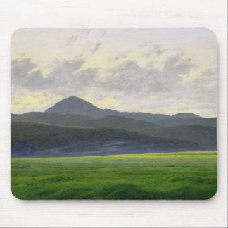 Mountainous landscape mouse pad