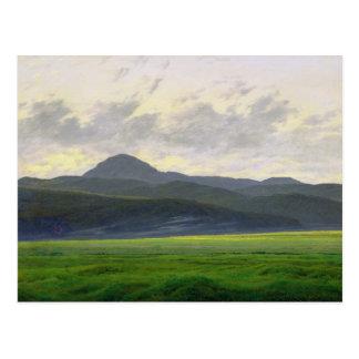 Mountainous landscape postcard