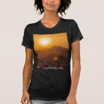 Mountainous Laos Sunset Tee Shirt