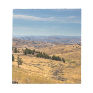 Mountainous Terrain in Central Oregon Notepad