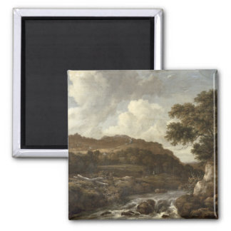 Mountainous Wooded Landscape with a Torrent Magnet