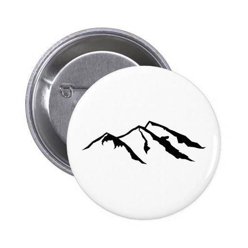 Mountains 2 Inch Round Button