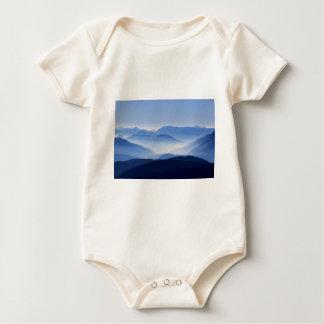 mountains-863 baby bodysuit