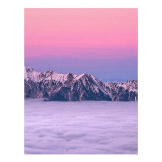 Mountains Above The Sky Letterhead