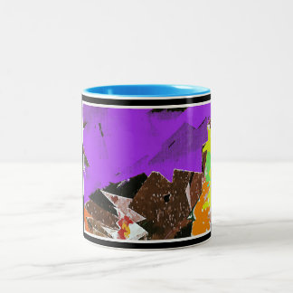 Mountains Abstract Expressionism Mug