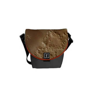 Mountains and Buried Ice on Mars Courier Bag
