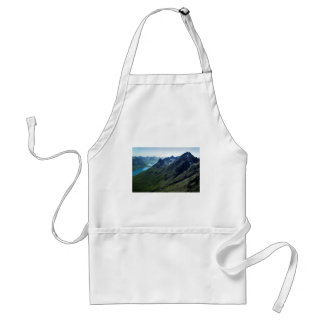 Mountains and Glacial Valley Aprons