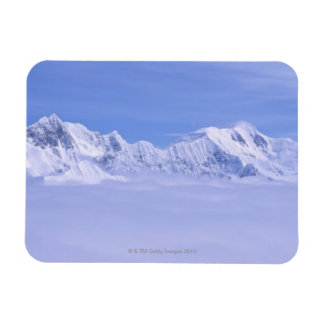 Mountains and Glaciers Rectangular Magnets