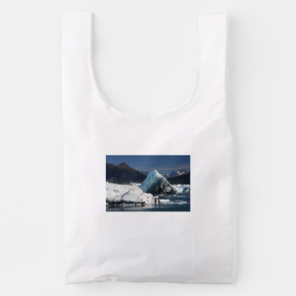 mountains and ice reusable bag