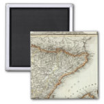 Mountains and Rivers of Canary Islands 2 Inch Square Magnet