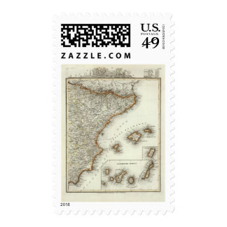 Mountains and Rivers of Canary Islands Postage Stamp