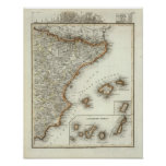 Mountains and Rivers of Canary Islands Poster