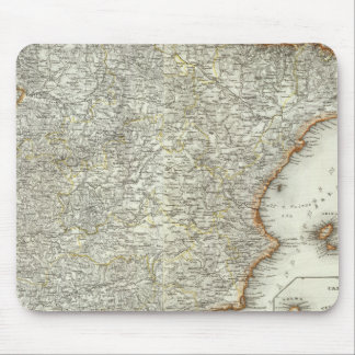 Mountains and Rivers of Madrid, Spain Mousepad