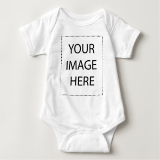 Mountains and Snow Postcard Baby Bodysuit