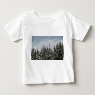 Mountains and Snow Postcard Baby T-Shirt