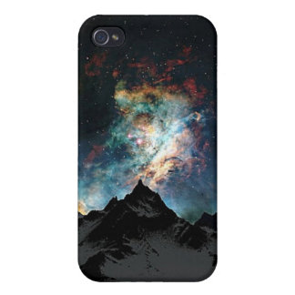 Mountains and Star Dust iPhone 4/4S Case