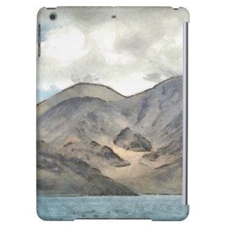 Mountains and the Pangong Tso lake Cover For iPad Air