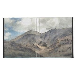 Mountains and the Pangong Tso lake iPad Cases