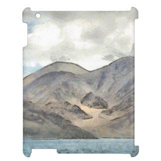 Mountains and the Pangong Tso lake iPad Cover