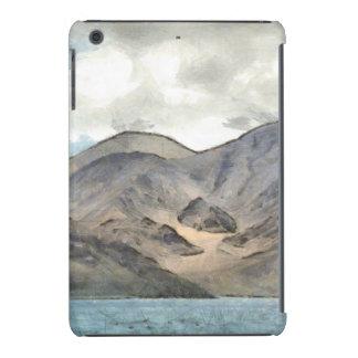 Mountains and the Pangong Tso lake iPad Mini Case