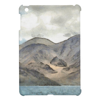 Mountains and the Pangong Tso lake iPad Mini Cases