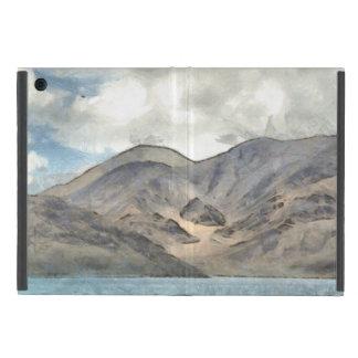 Mountains and the Pangong Tso lake iPad Mini Cover