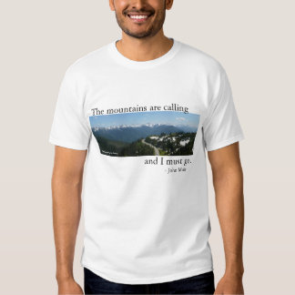 Mountains are Calling - Light T Shirts