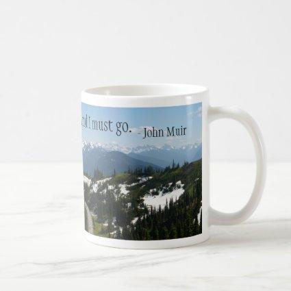 Mountains are Calling Mug Coffee Mug
