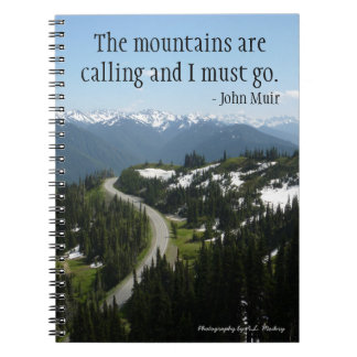 Mountains are Calling Notebook