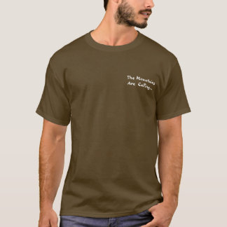 Mountains are Calling - Personalize T-Shirt