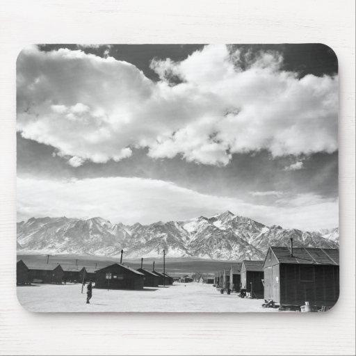 Mountains at Manzanar, 1943 Mouse Pad