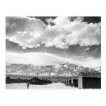 Mountains at Manzanar, 1943 Postcard