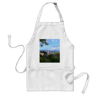Mountains Behind Scalea Adult Apron