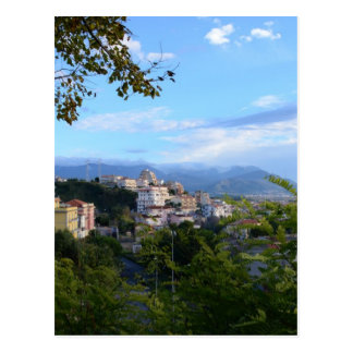 Mountains Behind Scalea Postcard