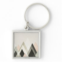 Mountains Beyond Mountains III Keychain
