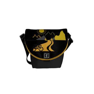 Mountains & Biking Mini-Messenger Bag
