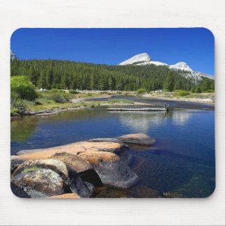 Mountains boulder creek Mousepad