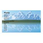 Mountains - Business Double-Sided Standard Business Cards (Pack Of 100)