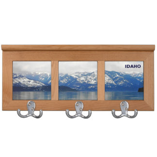 Mountains By The Lake Coat Rack
